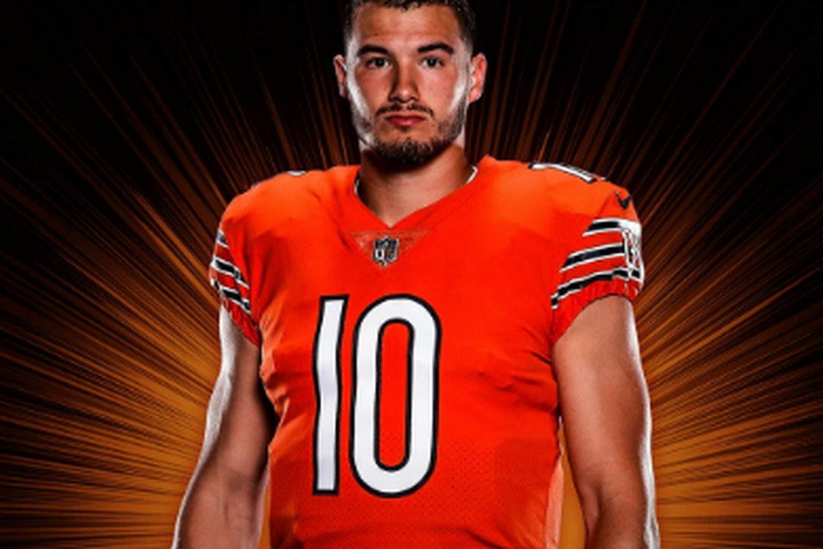 f73ef0a7162 The Bears unveiled their orange uniforms last year. (Courtesy Chicago Bears)