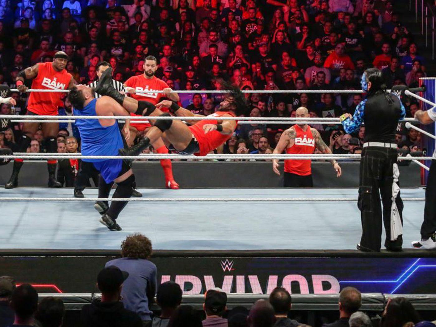 WWE Survivor Series 2018 match times stats breakdown - Cageside Seats