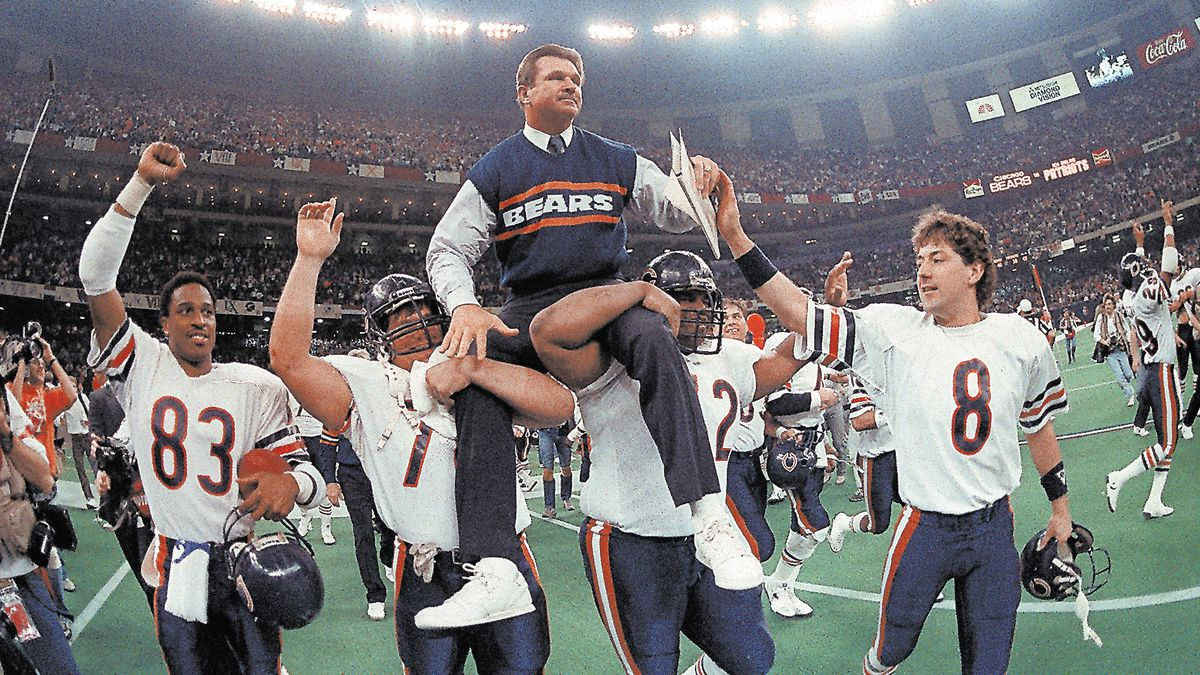 Listing the 100 most memorable moments in Bears history