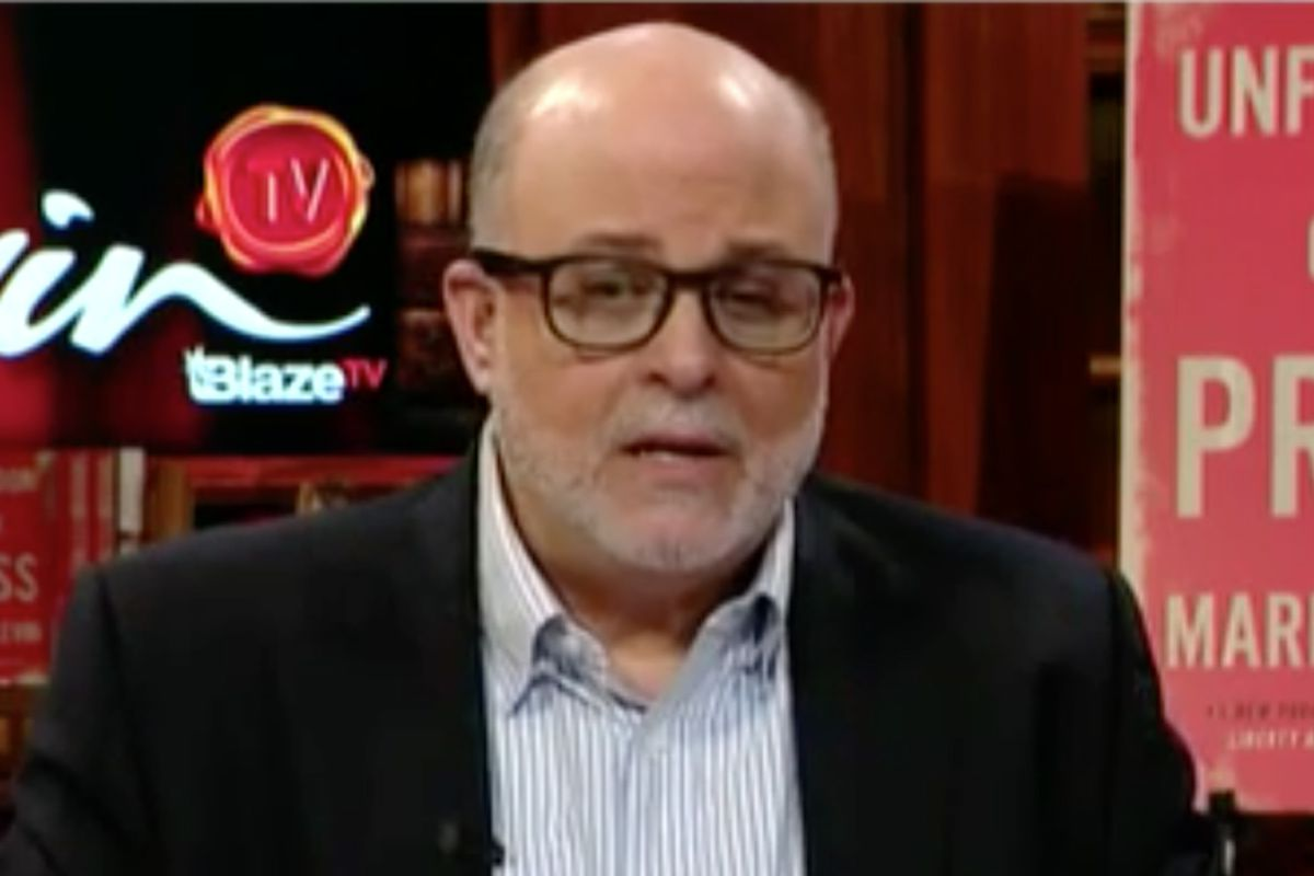 Author and radio and Fox News commentator Mark R. Levin.