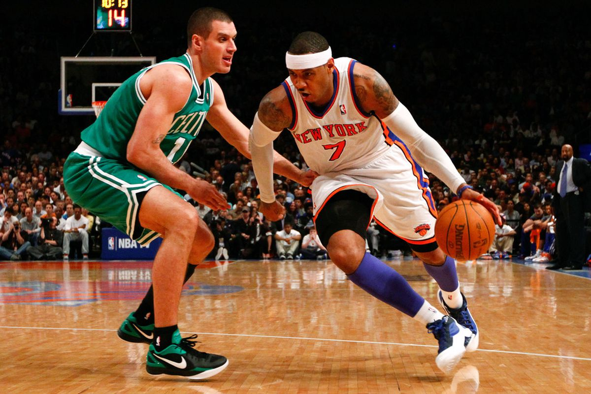 Carmelo Anthony's recent play is one of the positives the Knicks have going for them. Debby Wong-US PRESSWIRE