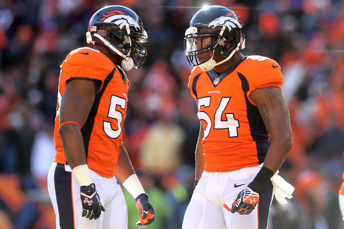 on sale a3b61 611f2 Broncos linebacker Brandon Marshall bombarded on Twitter ...