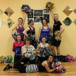"""For something totally quirky (and a little bit '80s), book a private <a href=""""http://cheerobix.blogspot.com/2012/05/bachelorette-party.html"""">Cheerobix</a> class.  The fun, heart-pumping group fitness sessions involve pom-pom routines and original cheers,"""