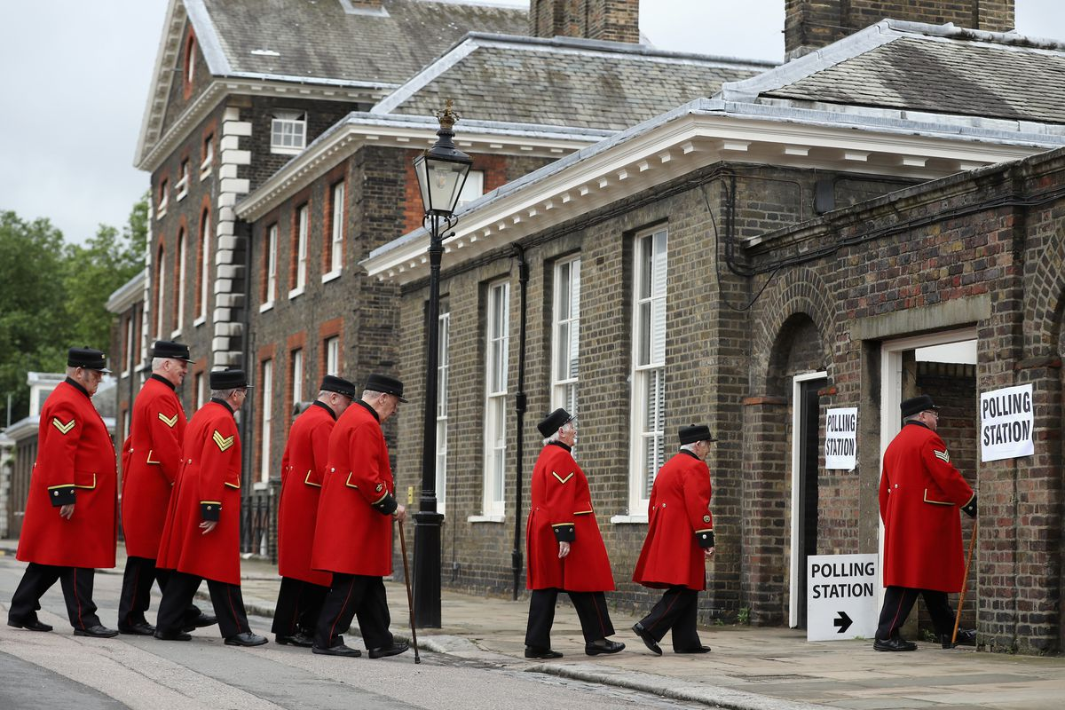 The United Kingdom Goes To The Polls In The EU Referendum
