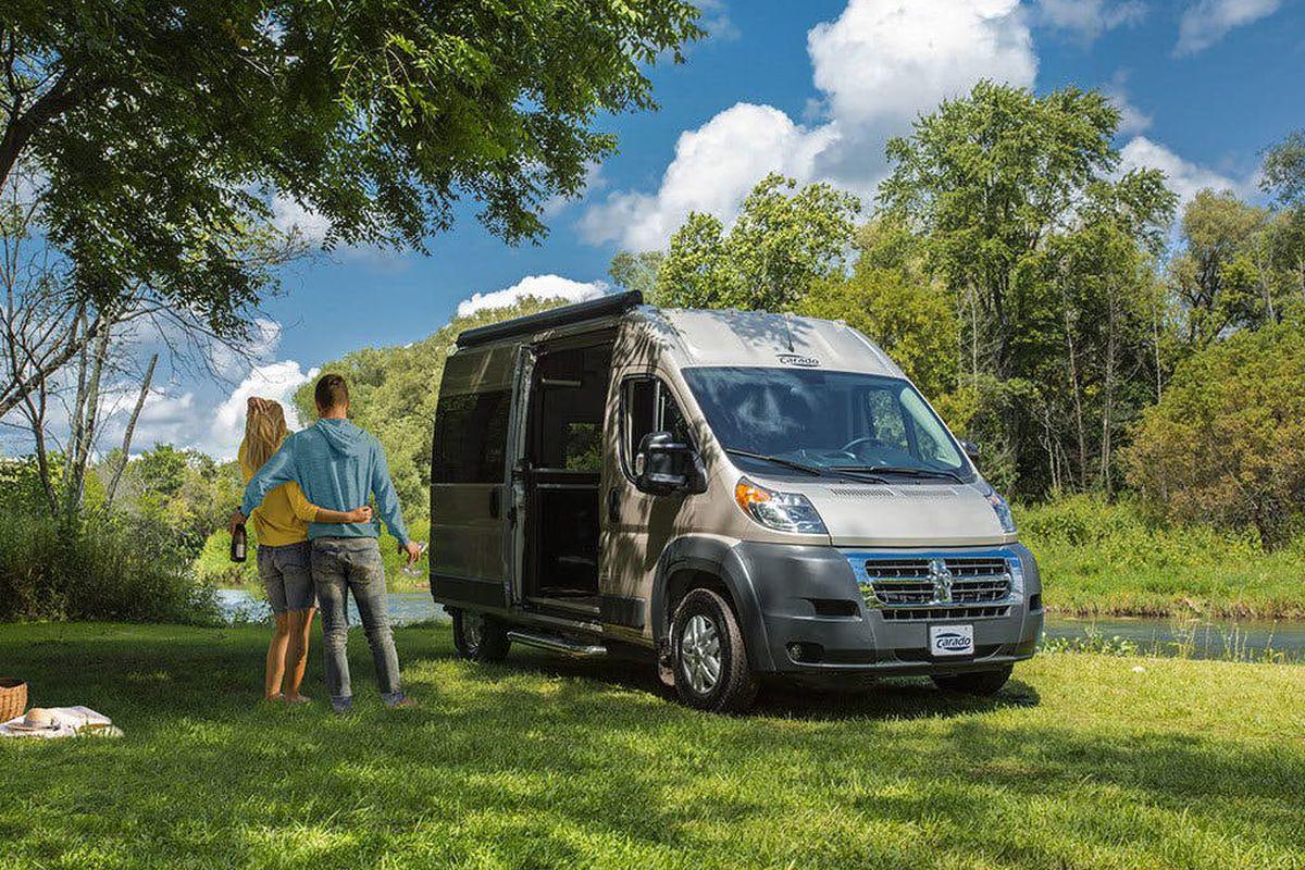 Compact camper van fits a bathroom, sleeps two - Curbed