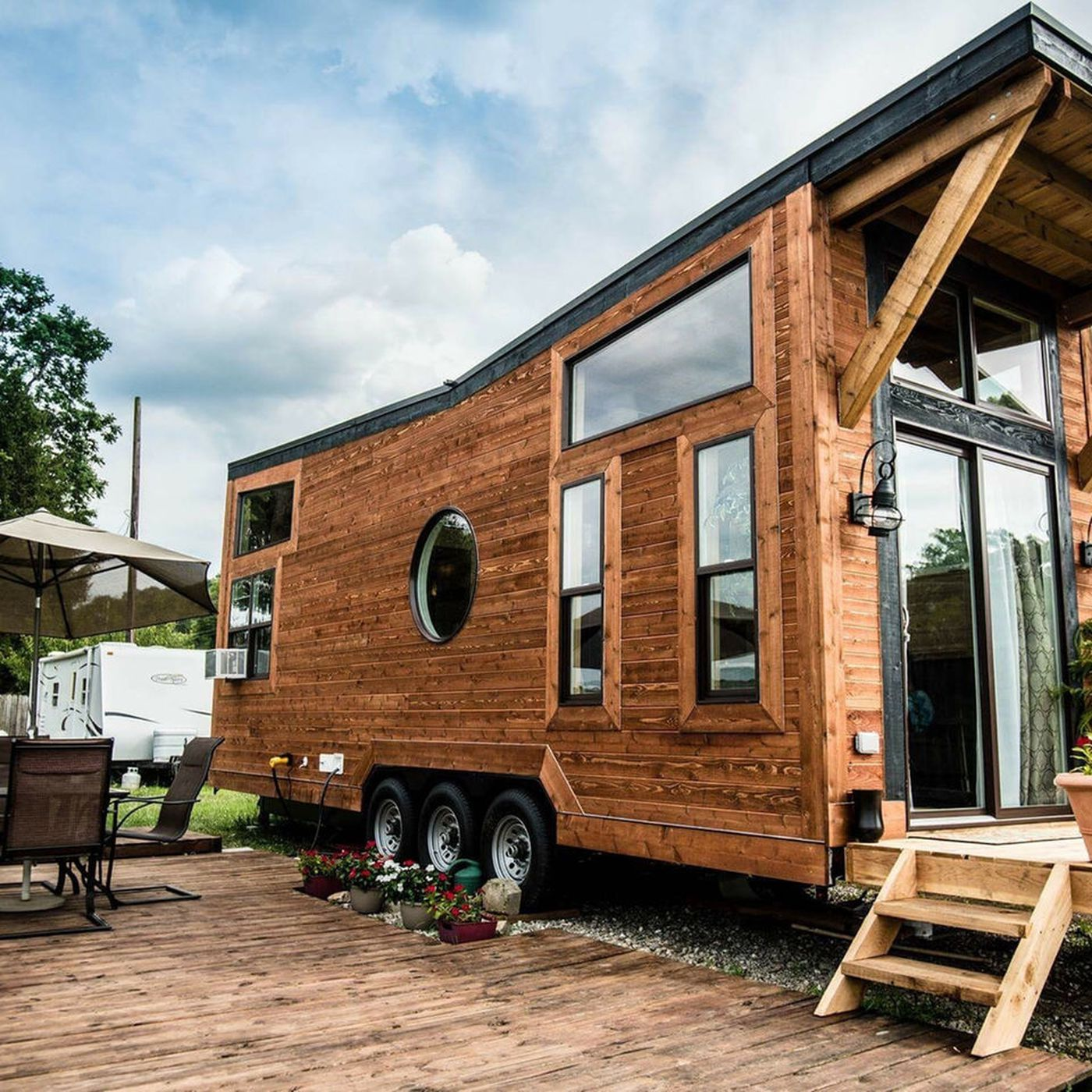 Tiny House Owners Can Find Land To Park On With Try It Tiny Curbed,Chocolate Warm Balayage Chocolate Warm Dark Brown Hair Color
