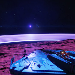HR 6164 includes a high-gravity world, also known as The View. Landings there are extremely difficult. Stacking your SRV on top of your ship is challenging under normal circumstances, but particularly dangerous here.
