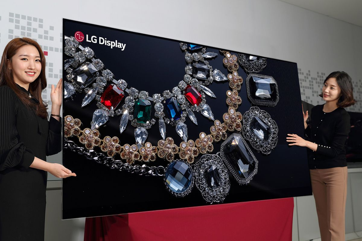 Image result for LG 88-inch OLED 8K TV