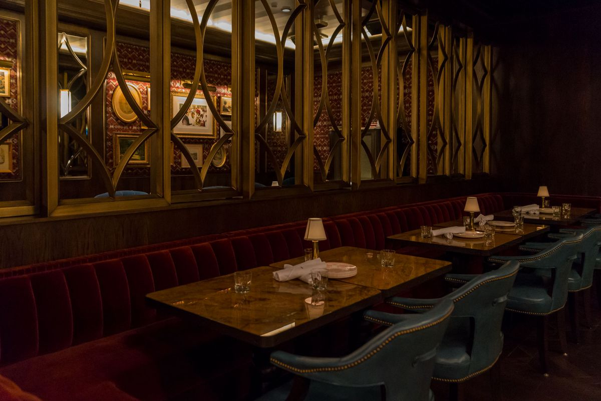 The private dining room at Bavette's