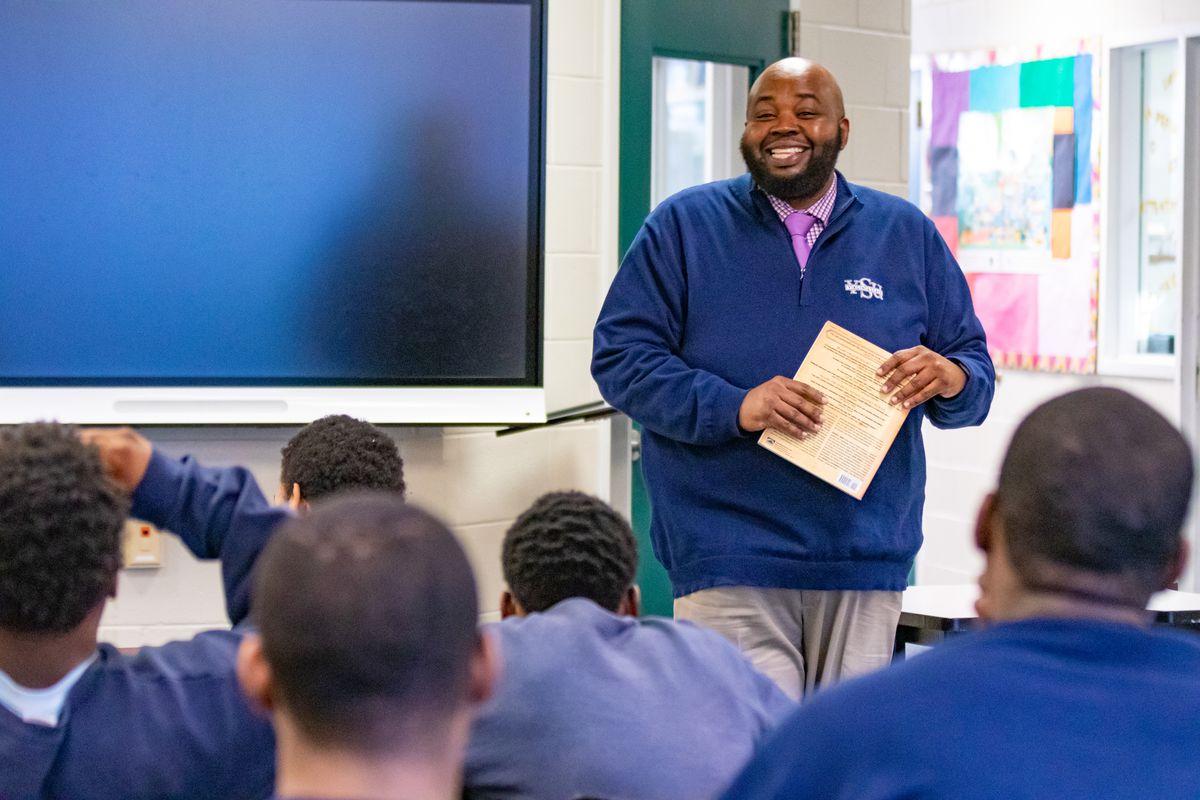 Rodney Robinson, 2019 National Teacher of the Year.
