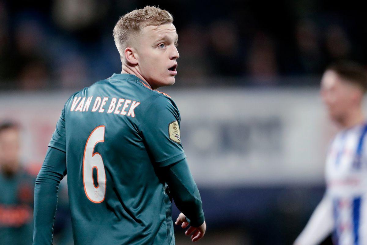 SC Heerenveen v Ajax - Dutch Eredivisie