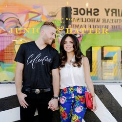And just like that this blogger and photographer duo was ready to hit the town for Valentine's Day.