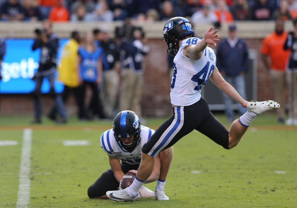 COLLEGE FOOTBALL: OCT 19 Duke at Virginia
