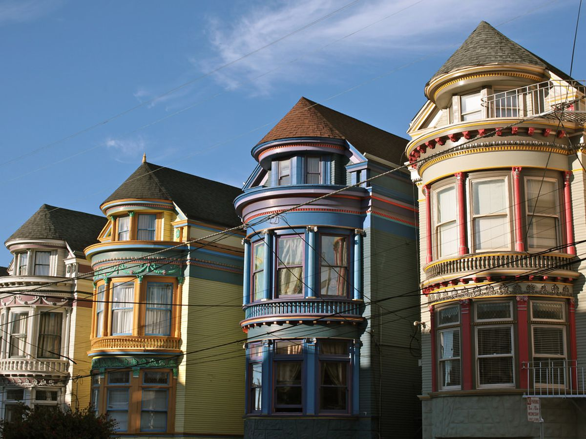 A mapped introduction to san francisco 39 s many varieties of for Victorian home construction