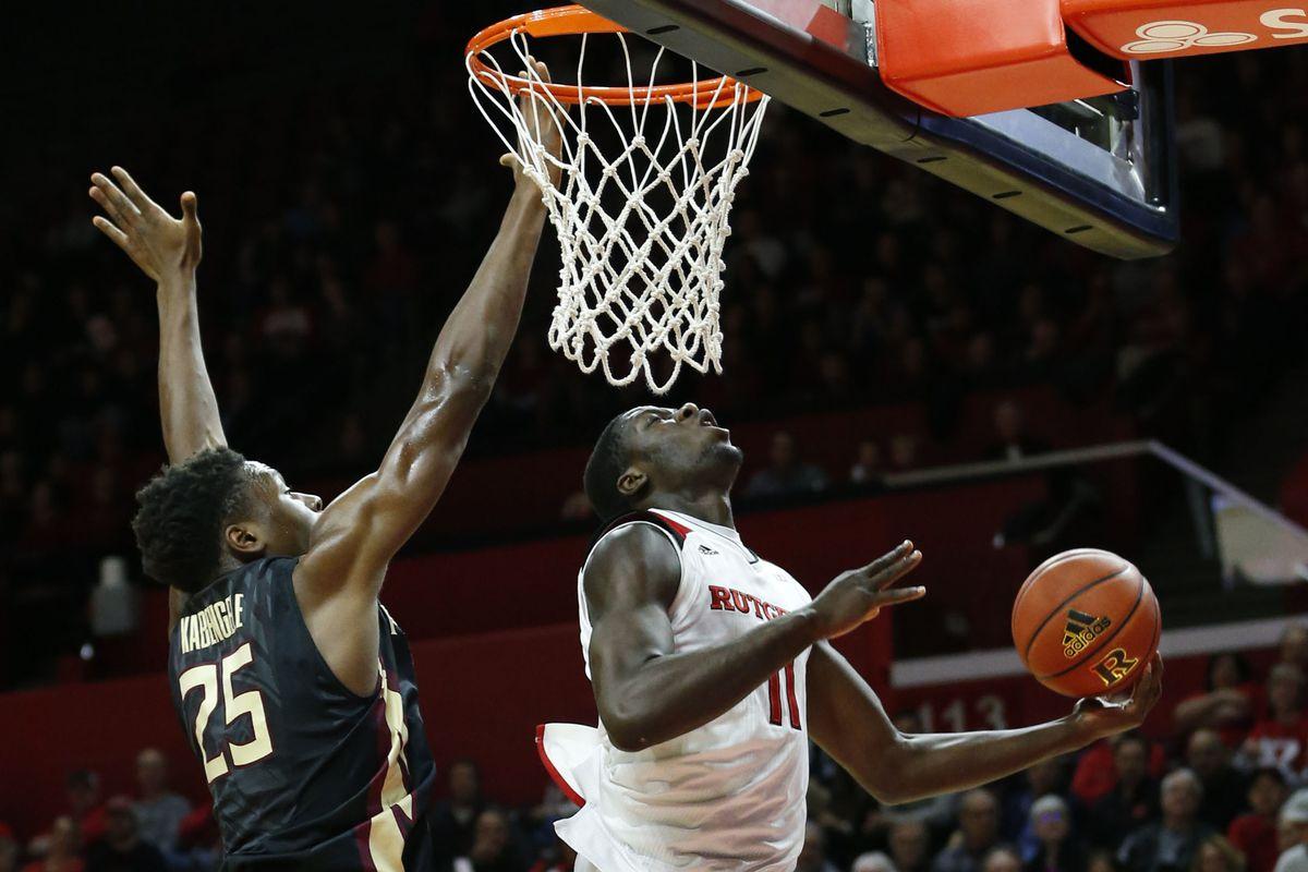 NCAA Basketball: Florida State at Rutgers