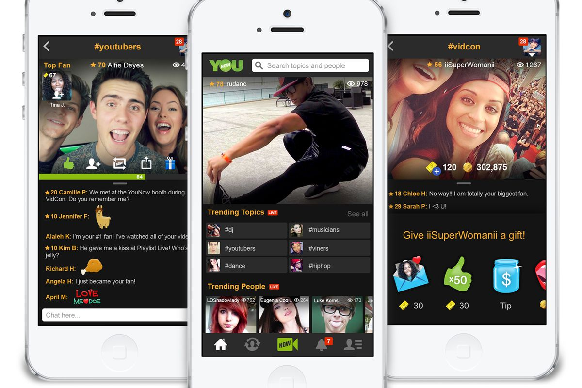 YouNow, the Livestreaming Social Network, Raises $15 Million