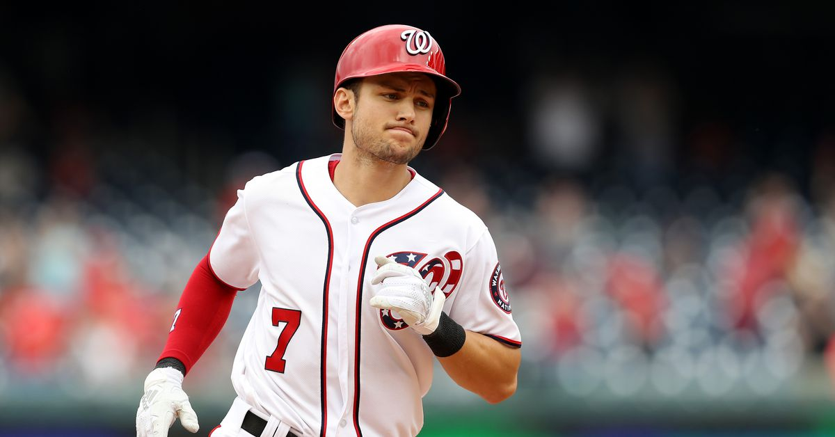a4cb4f3a1 No coincidence that the Nationals' turnaround came with Trea Turner's return