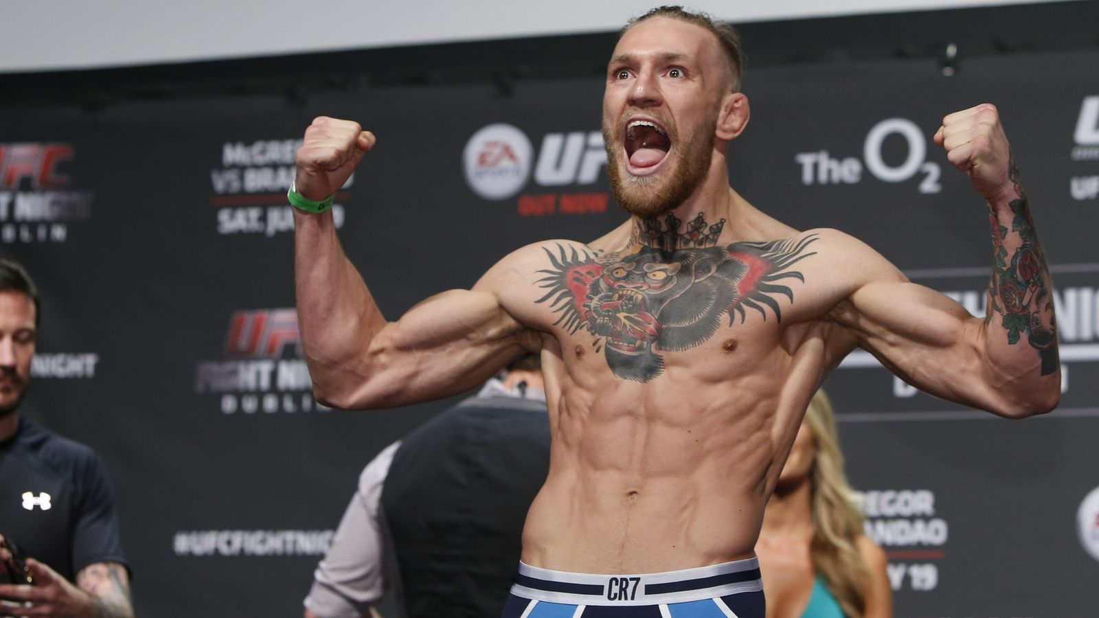 McGregor's First Title Defense To Be In Croke Park