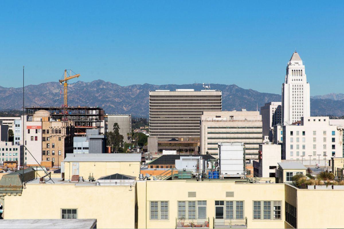 Downtown LA Civic Center