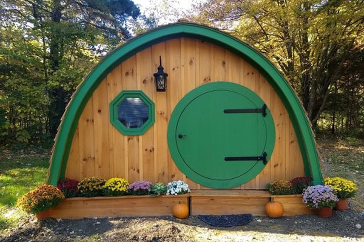 Hobbit Hole Playhouse From Wooden