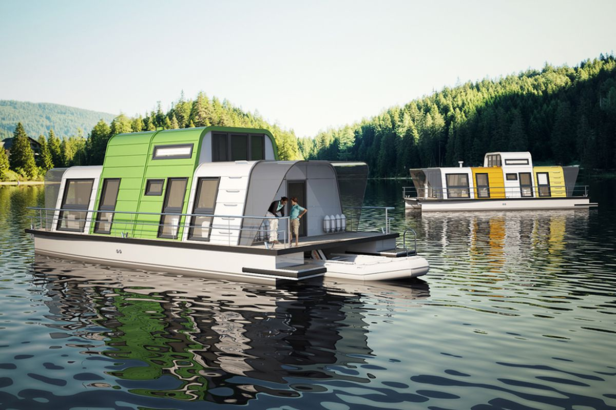 Prefab Houseboat Design Can Be Assembled In Two Days Curbed