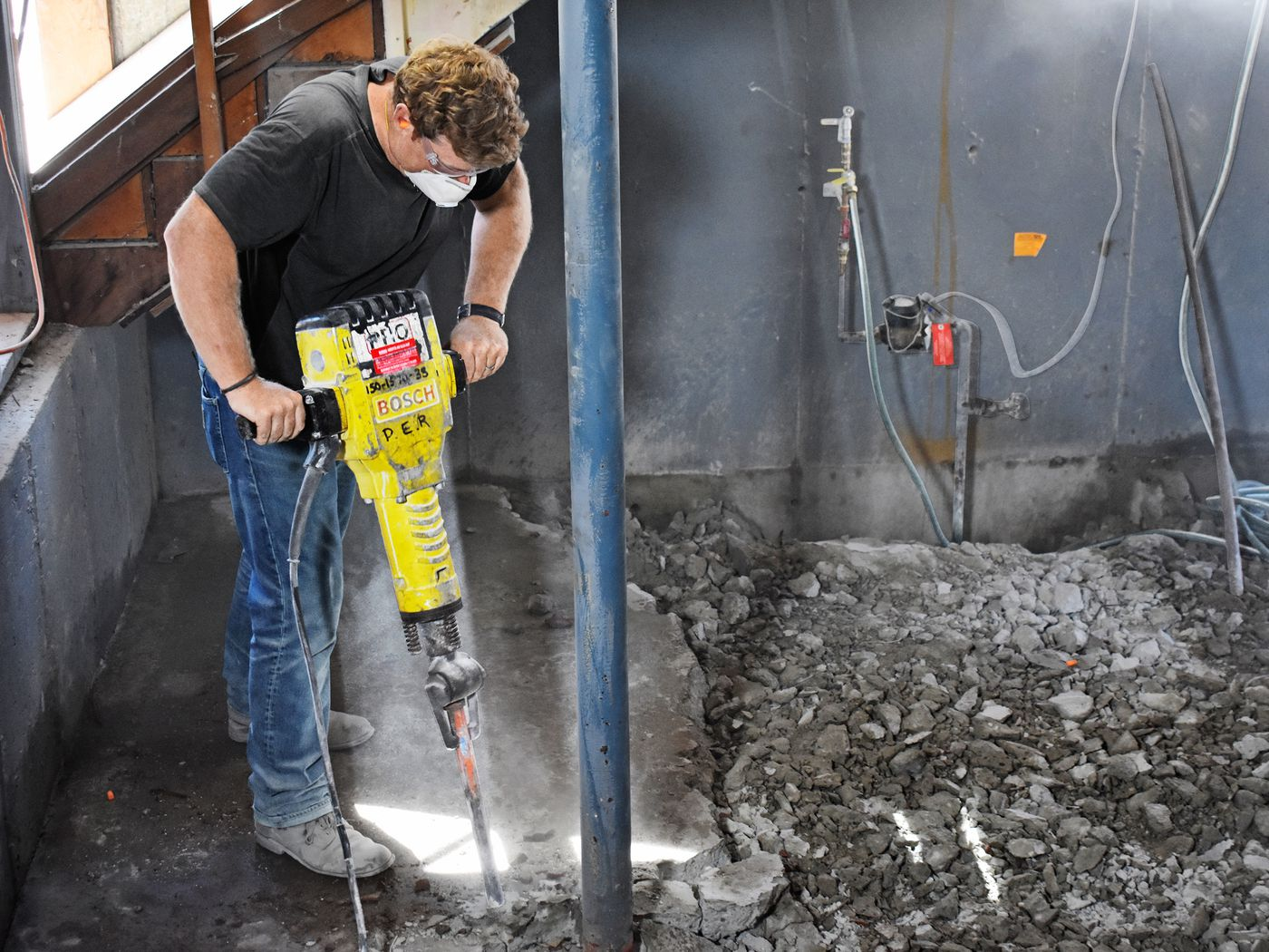 How To Break Up And Remove Concrete This Old House