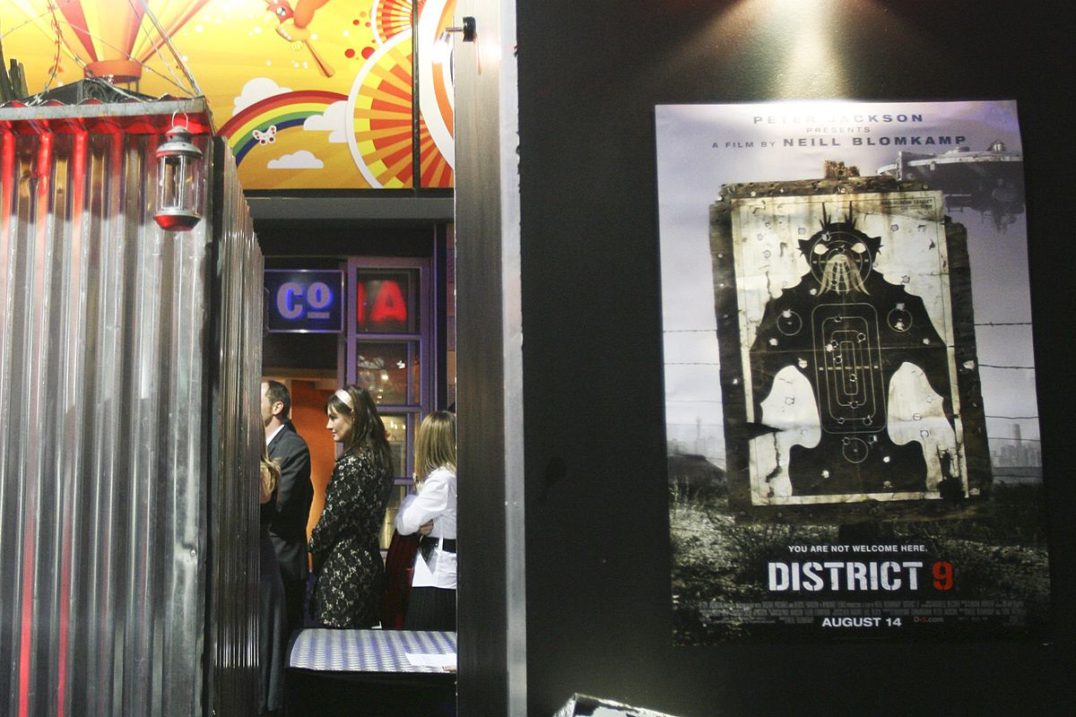 District 9 South African Premiere