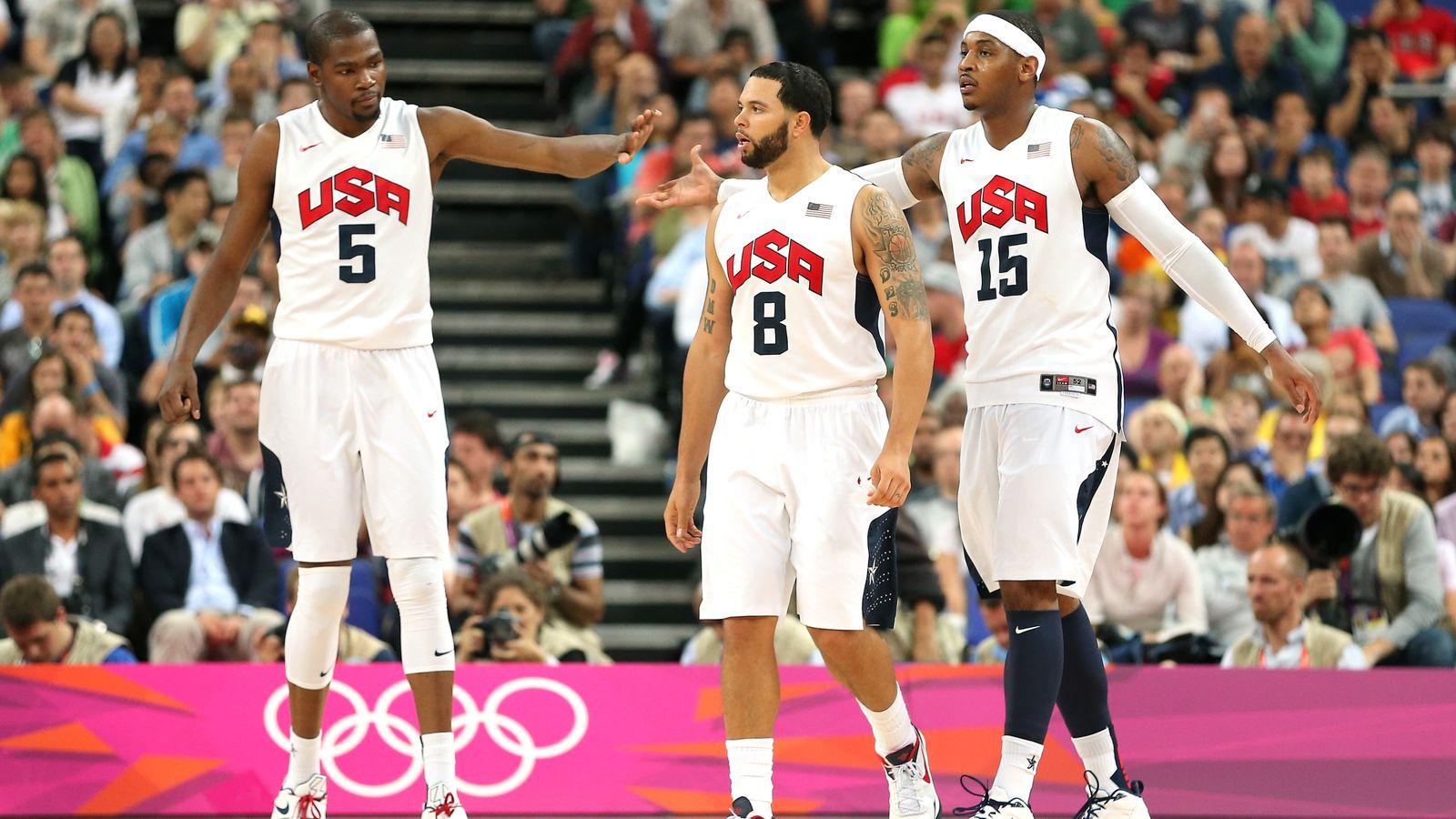 Team Usa Vs Spain Basketball 2012 Olympics Gold Medal