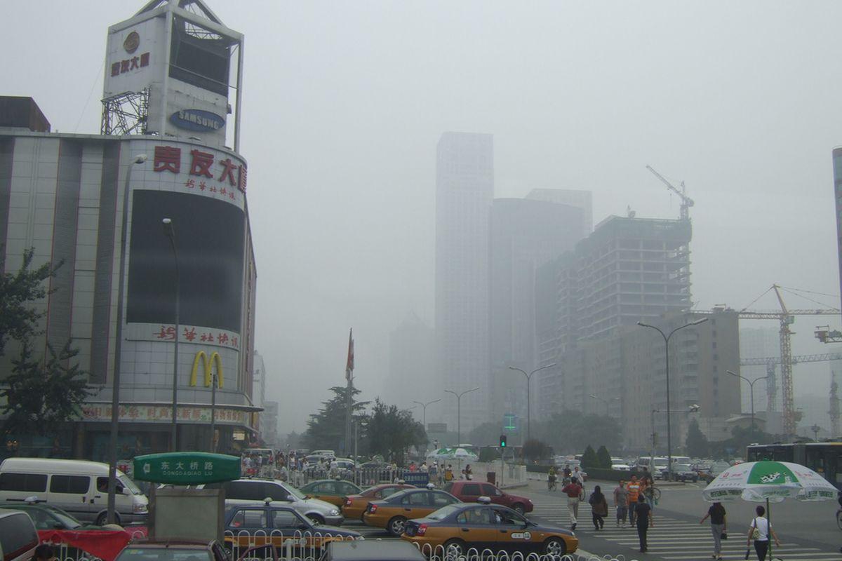 beijing smog (flickr)