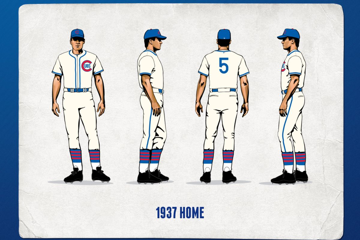 Cubs Celebrate 1930s In Upcoming Homestand Bleed Cubbie Blue