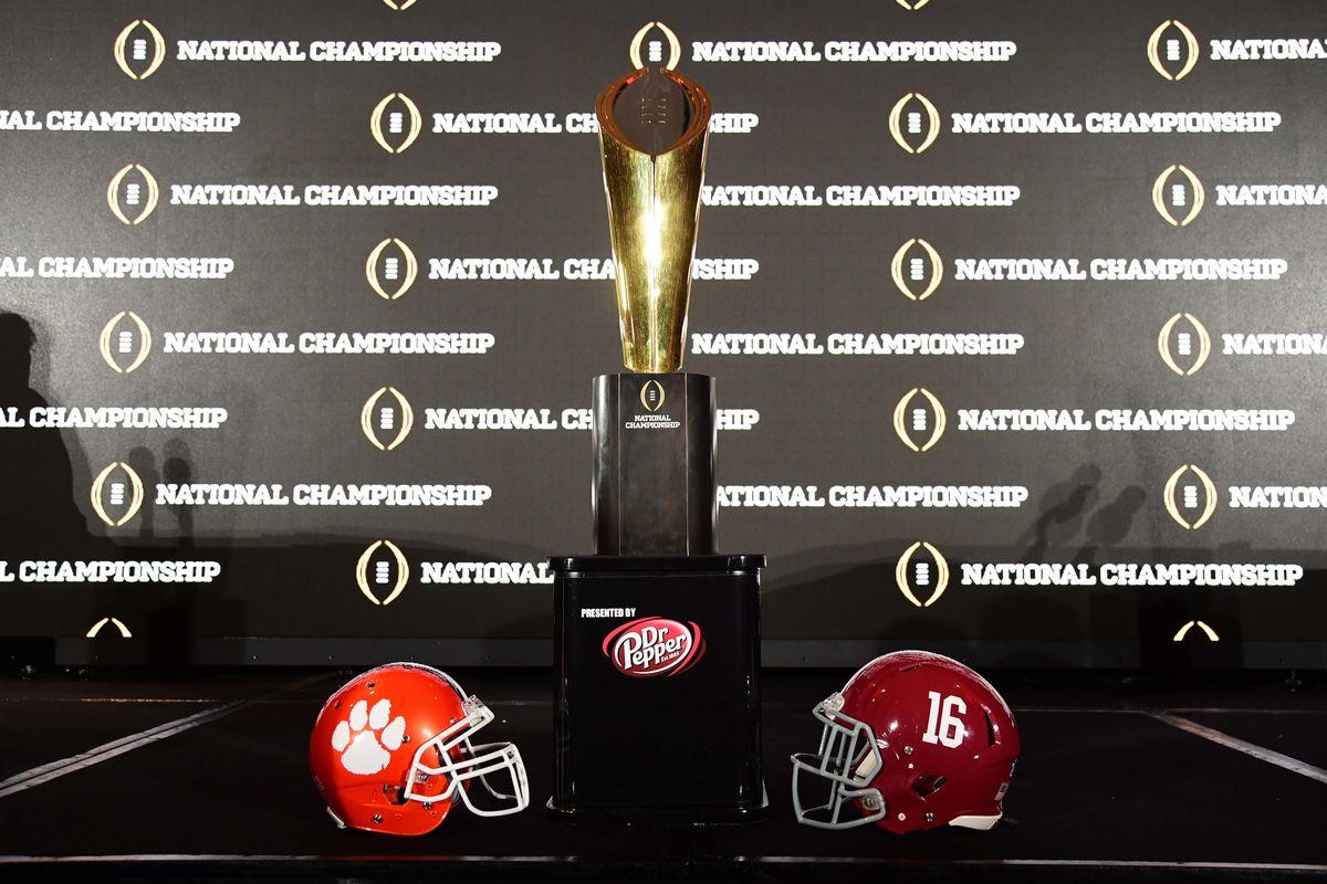 Kickoff time for national championship game - John David Mercer Usa Today Sports