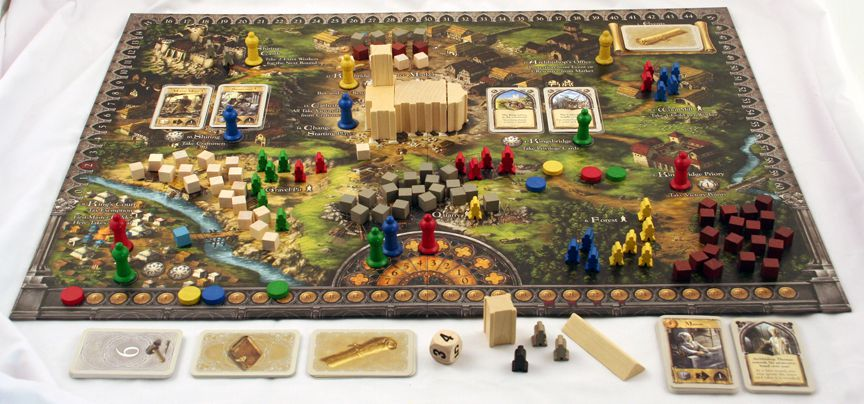Pillars of the Earth Review | Board Games | Zatu Games UK
