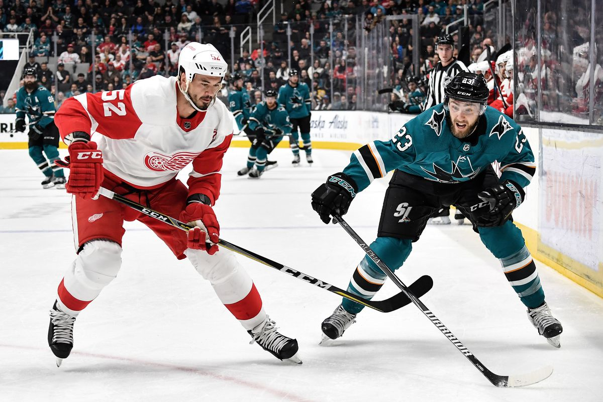 Morning Skate: Red Wings at Sharks - Preview, How to Watch