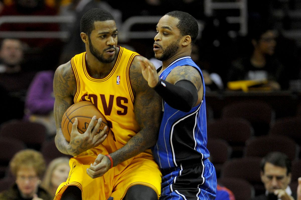 Earl Clark and Jameer Nelson
