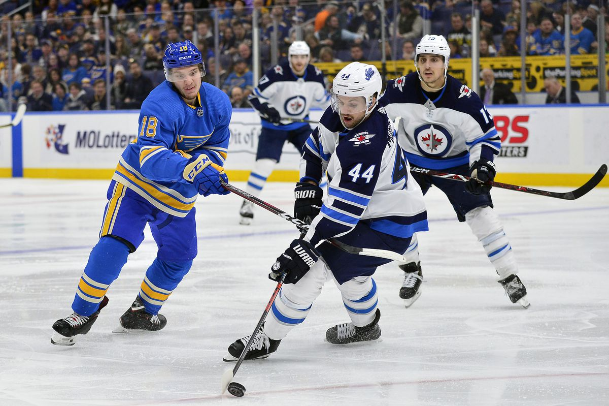 NHL: Winnipeg Jets at St. Louis Blues