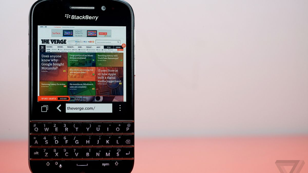 BlackBerry Q10 review: revenge of the keyboard - The Verge
