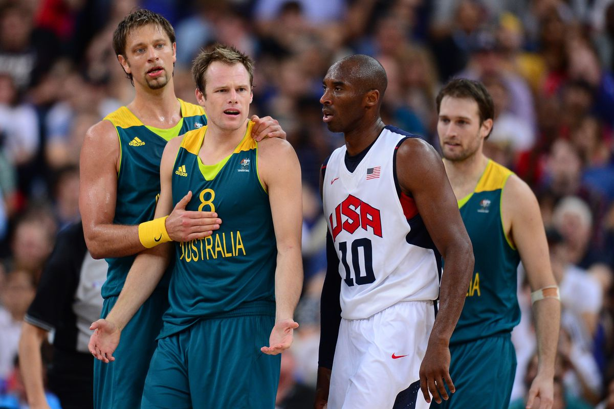 The Aussies don't like it when Kobe gets angry.