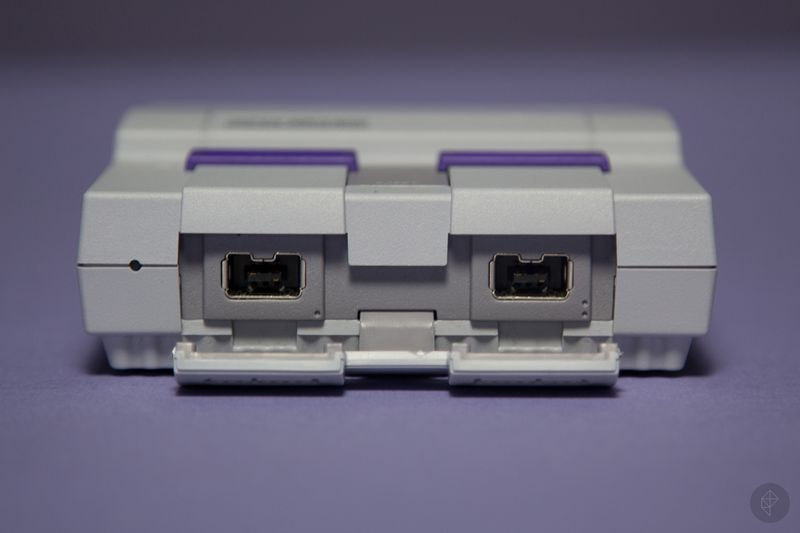 SNES Classic front ports