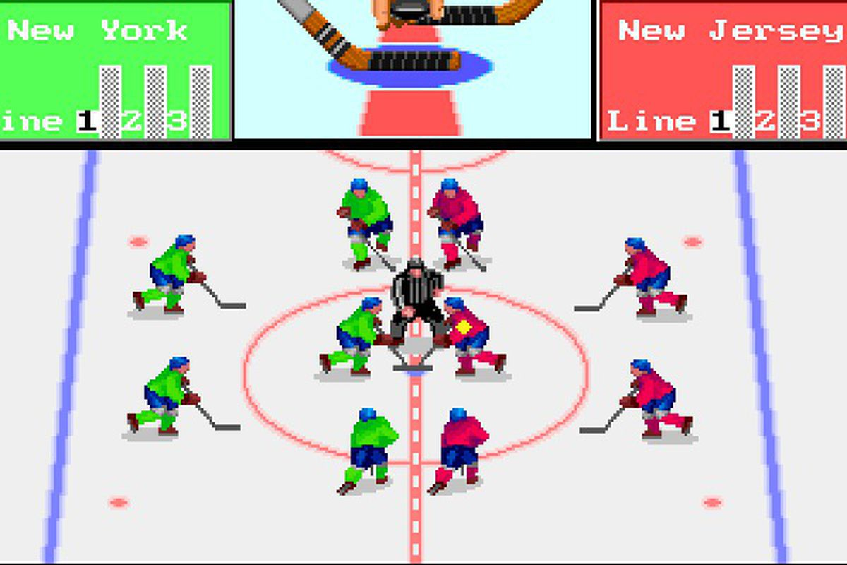 FaceOff! for the PC. This is the DOS version that came out in 1989 and I indeed played this when I was younger.