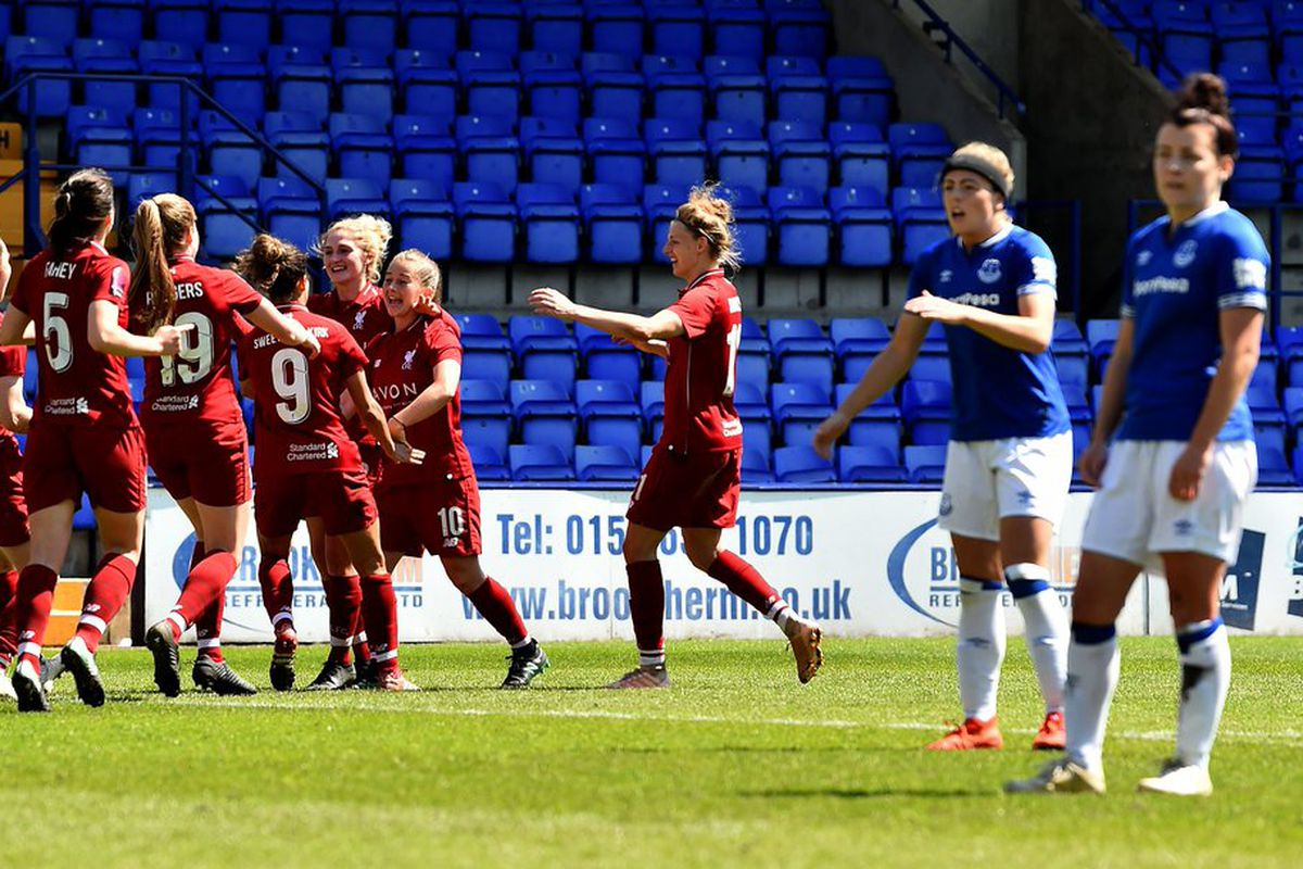 ad853a8fe6b Everton Ladies lose to Liverpool after conceding thrice from set pieces
