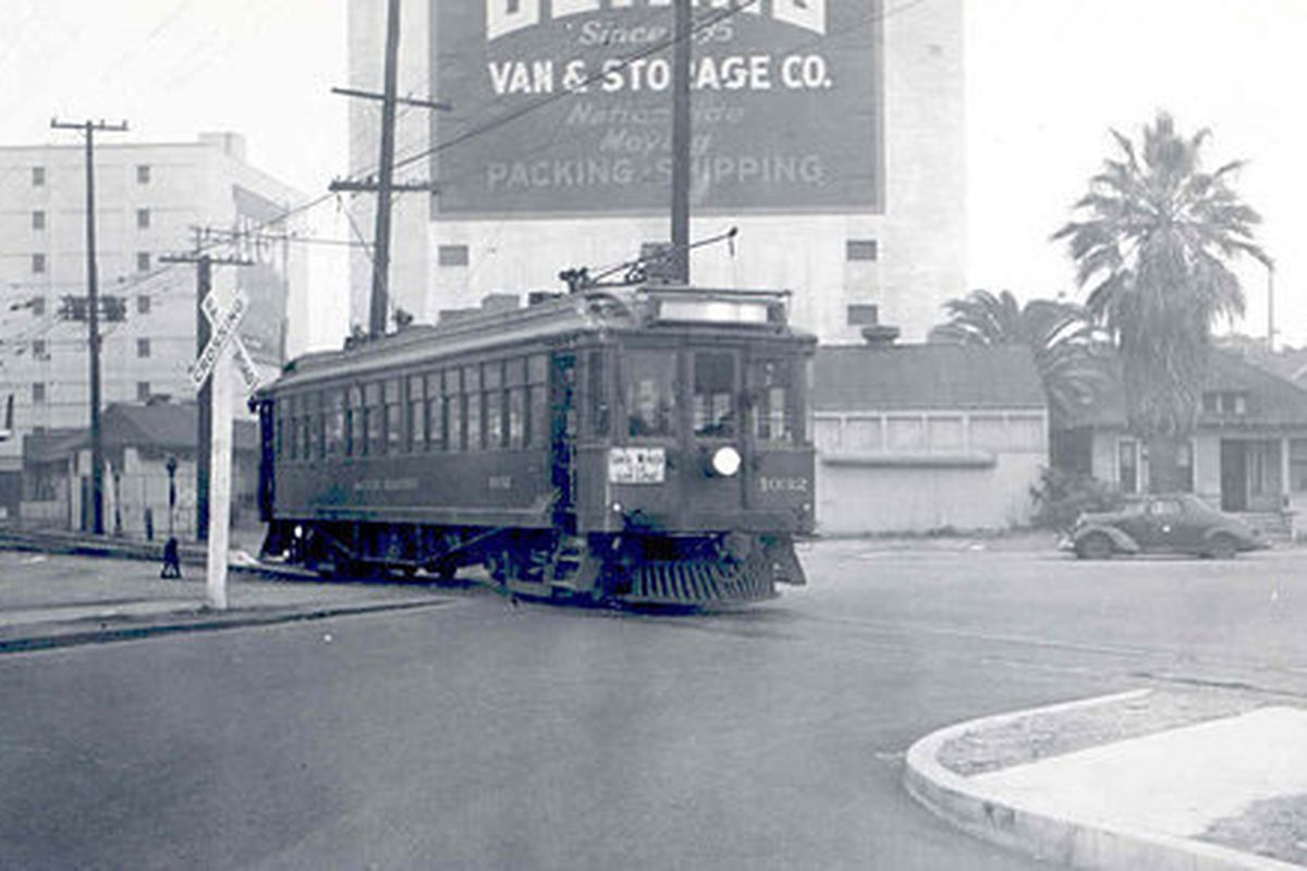 """Photo dated ca. 1940. Via Metro Transportation Library and Archive <a href=""""https://www.flickr.com/photos/metrolibraryarchive/2924926511/"""">Flickr</a>."""