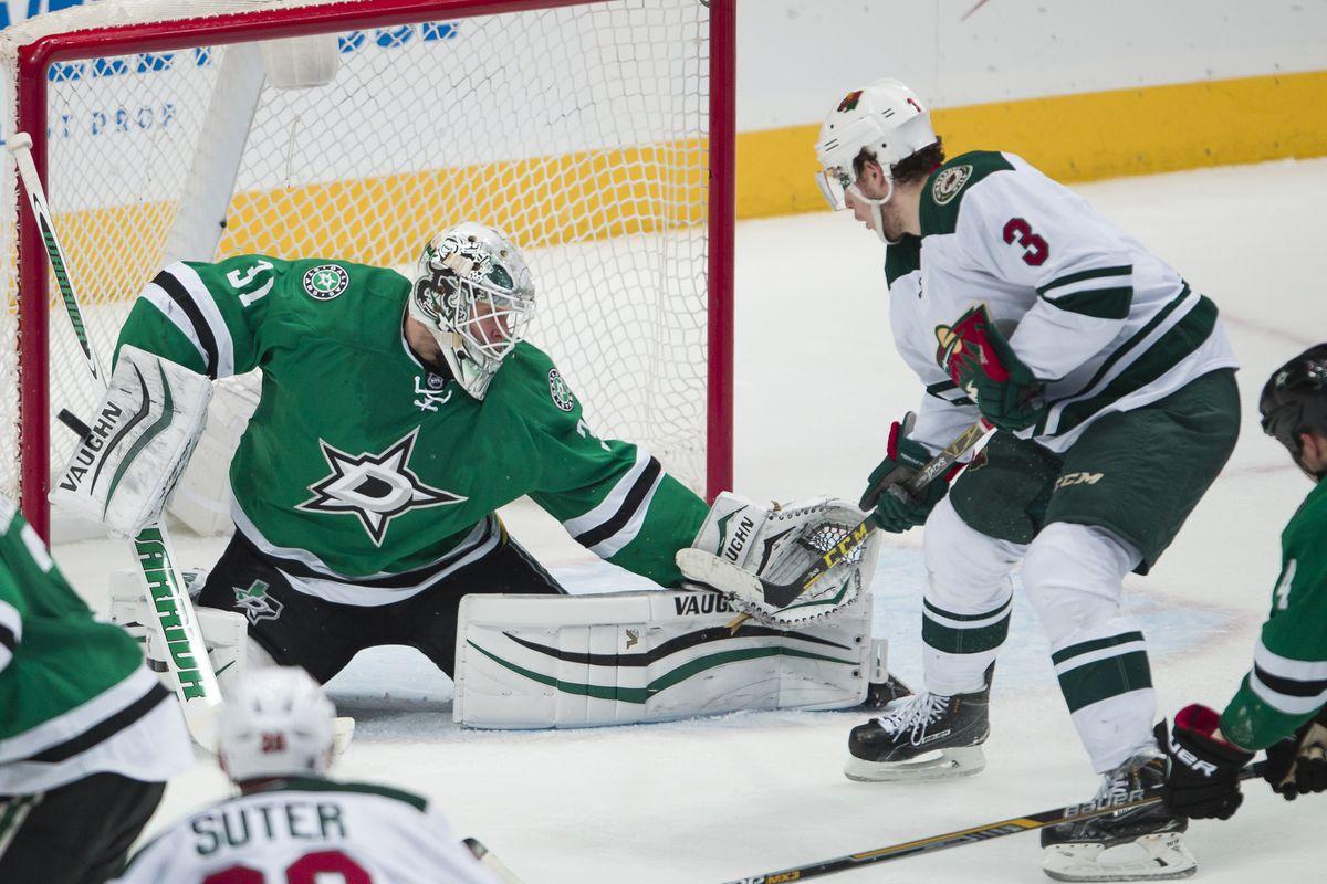 NHL: Stanley Cup Playoffs-Minnesota Wild at Dallas Stars