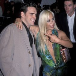 If you asked me to name the celebrity I'd LEAST expect Donatella Versace to bring as her date to the gala, I might honestly say Matt Dillon. But alas, here we are.