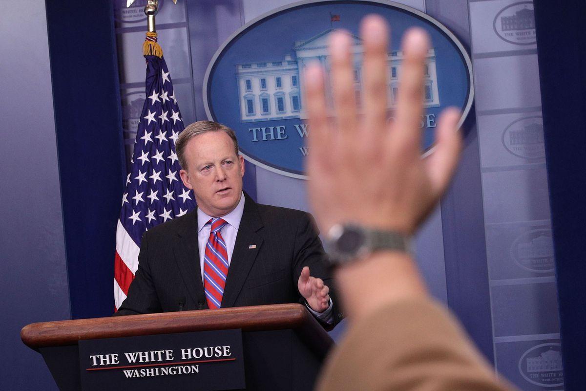 White House Press Secretary Sean Spicer Holds Press Briefing