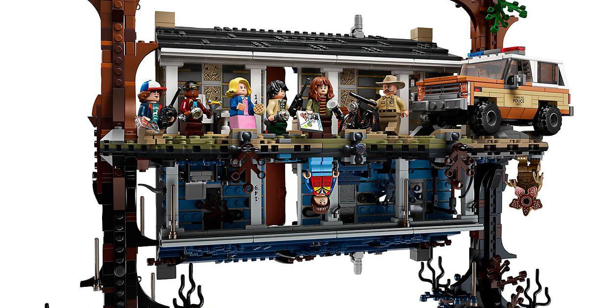 Stranger Things Amazing Lego Set Takes The Upside Down