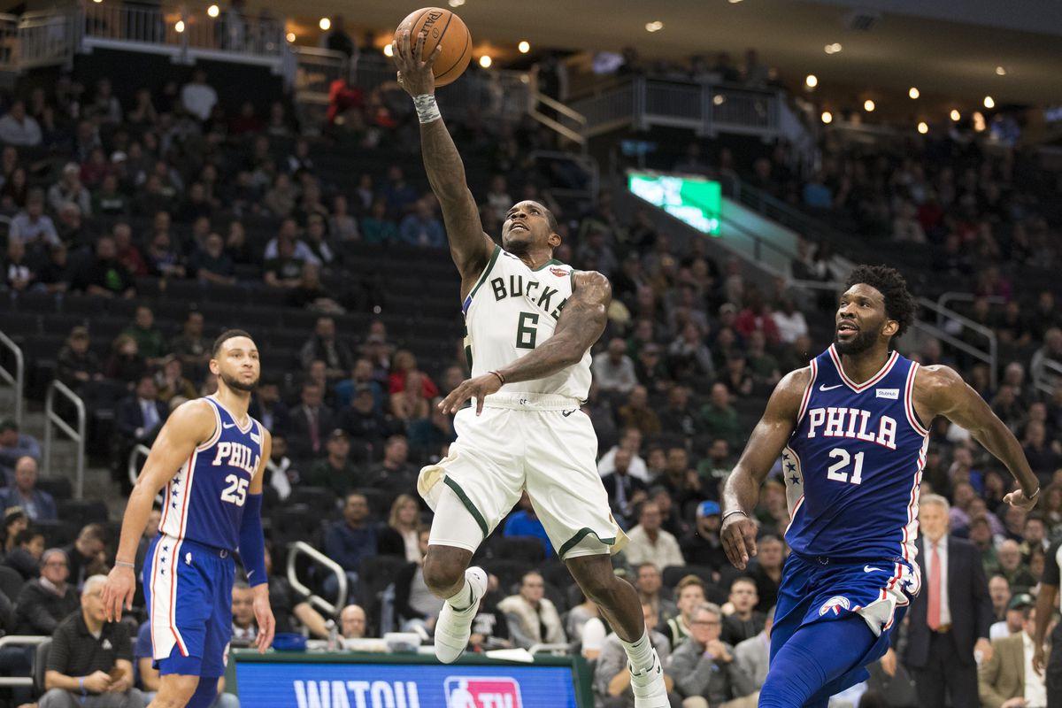 NBA: Philadelphia 76ers at Milwaukee Bucks