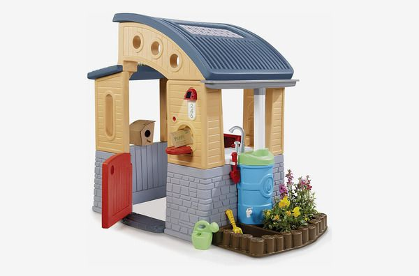 A product shot of the Little Tikes Go Green Playhouse