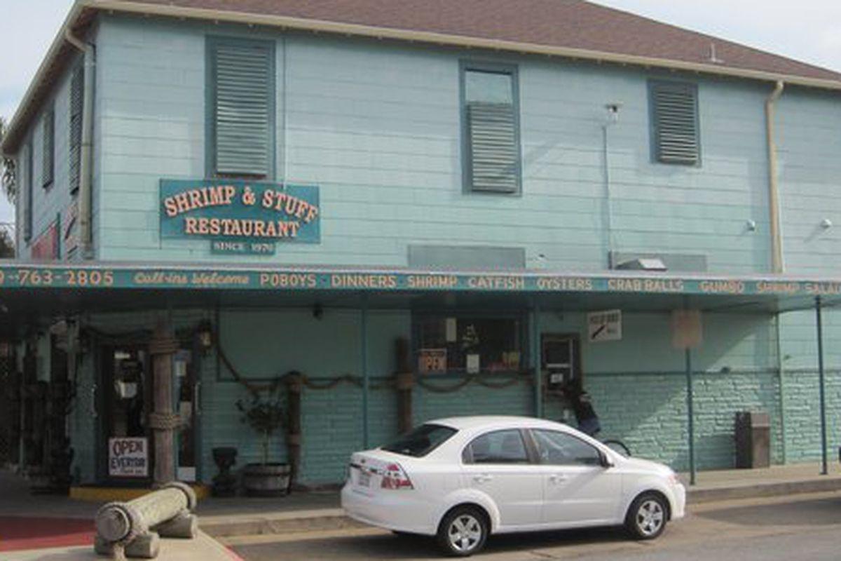 Galveston seafood dive Shrimp n Stuff