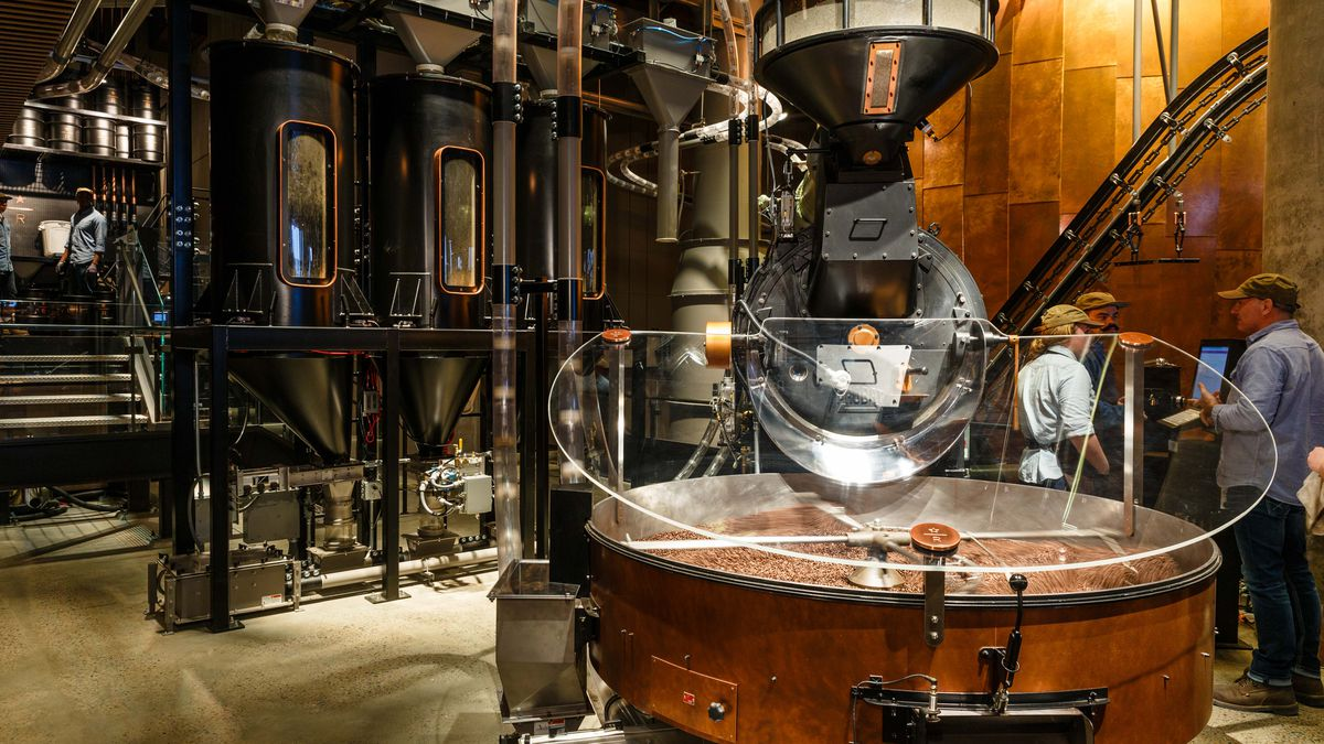 Starbucks Reserve Roastery In Chelsea Is A Coffee Theme Park