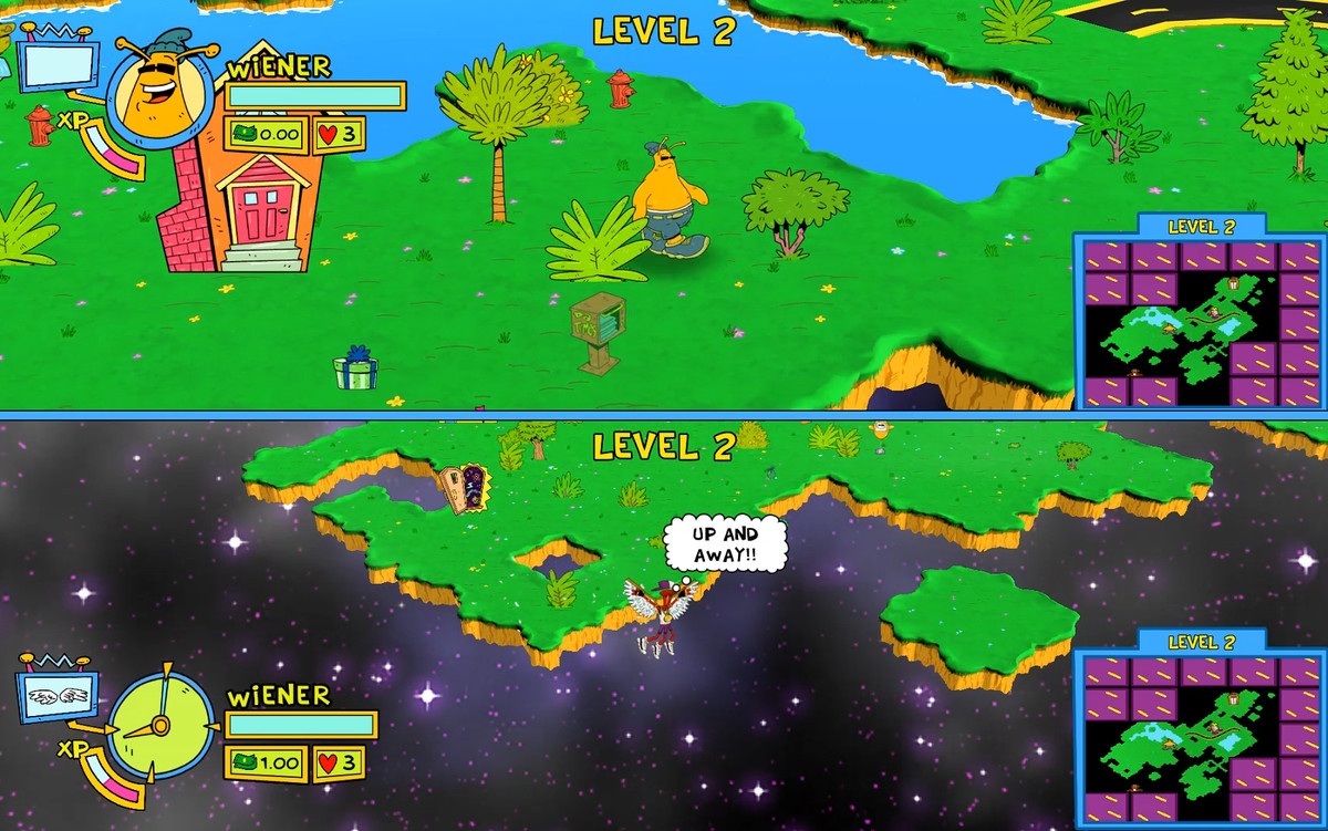 ToeJam & amp; Earl: Back in the Throat - Cooperative Level 2